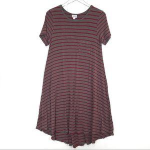 Lularoe Striped Carly Dress Size S